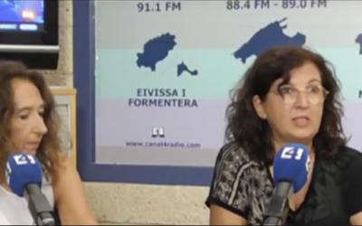 Entrevista a Júlia Monge en canal4radio