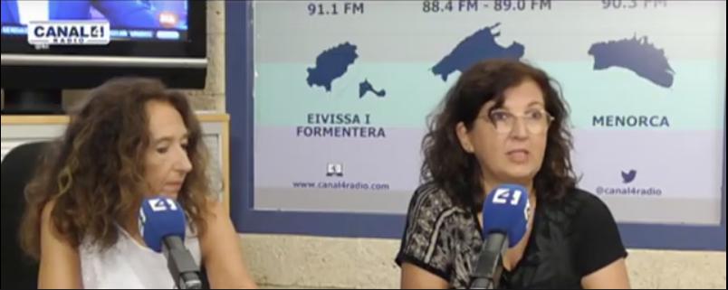 Entrevista a Julia Monge en canal4radio